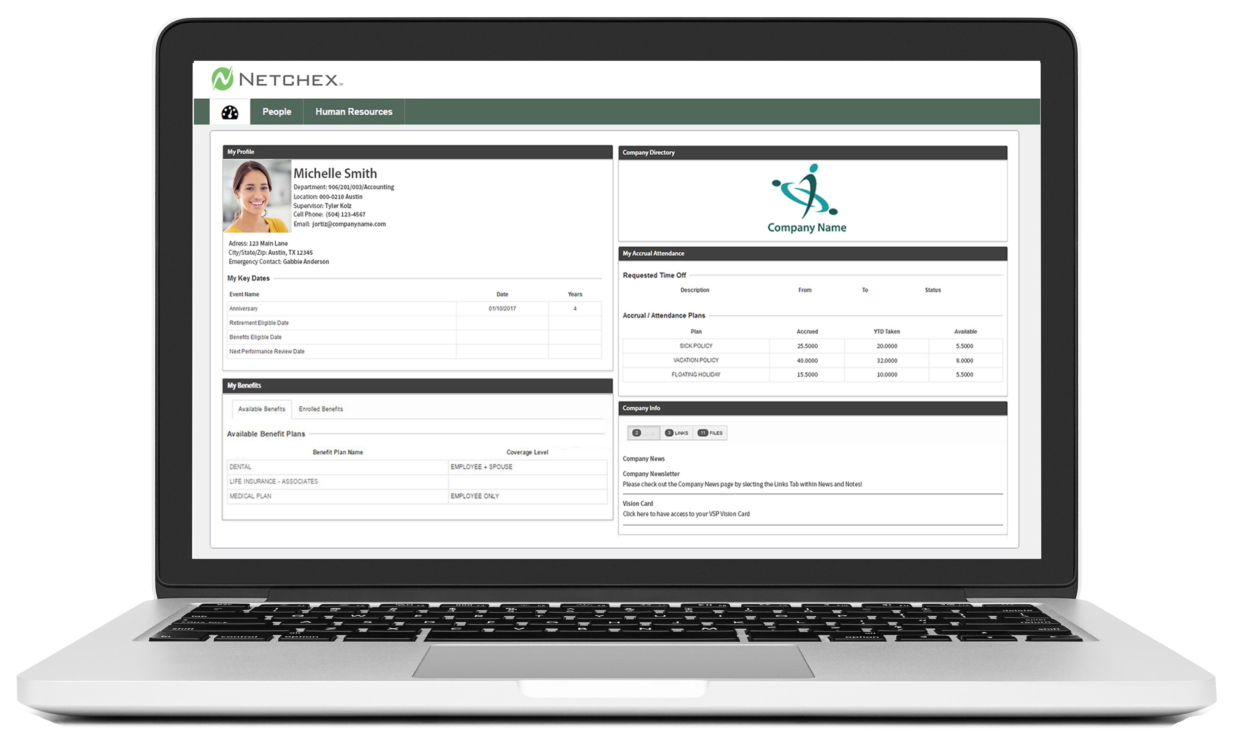 Netchex Dashboard